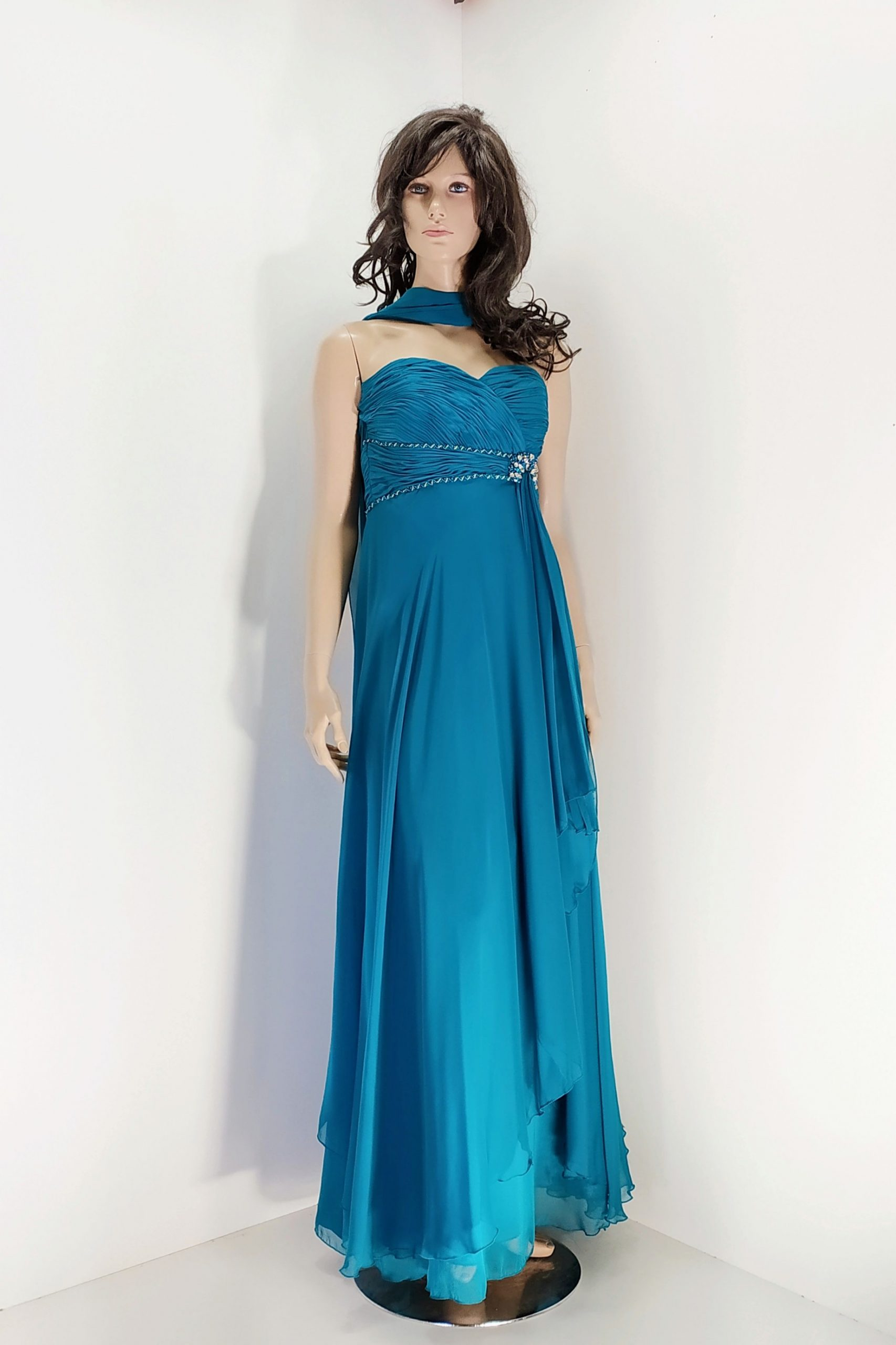 vestido_largo_verde azulado_yasmina
